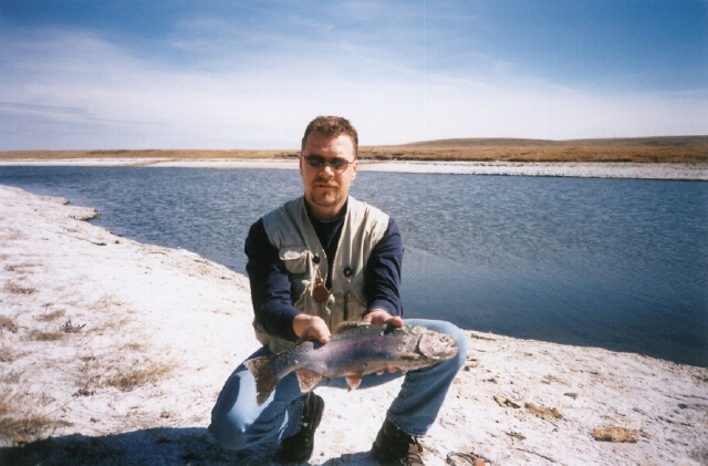 Rainbow trout from Blood Indian Resevoir