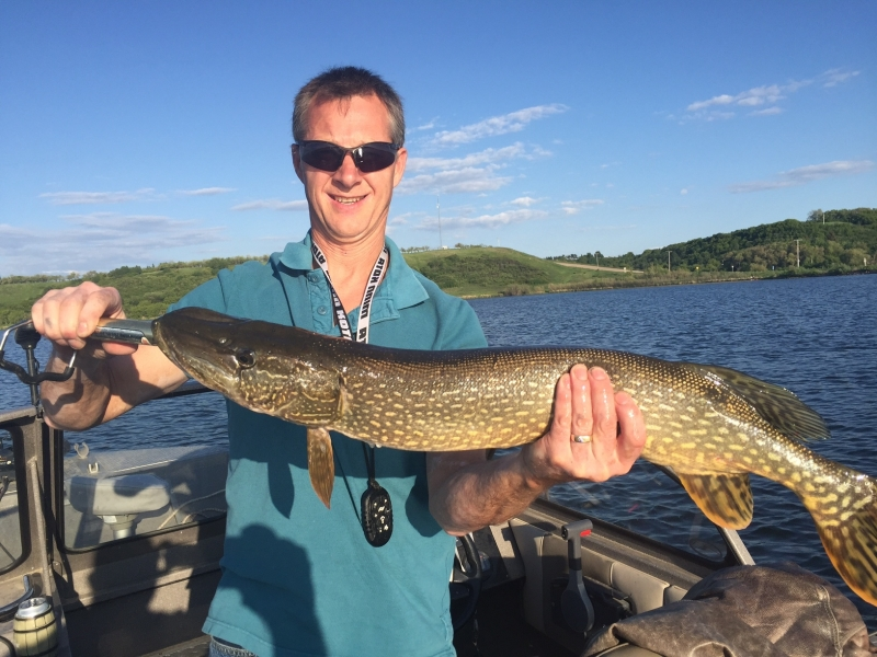 Nine Pound Northern Pike