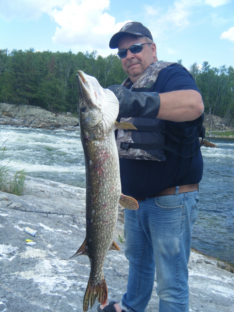 Big Pike by Larry