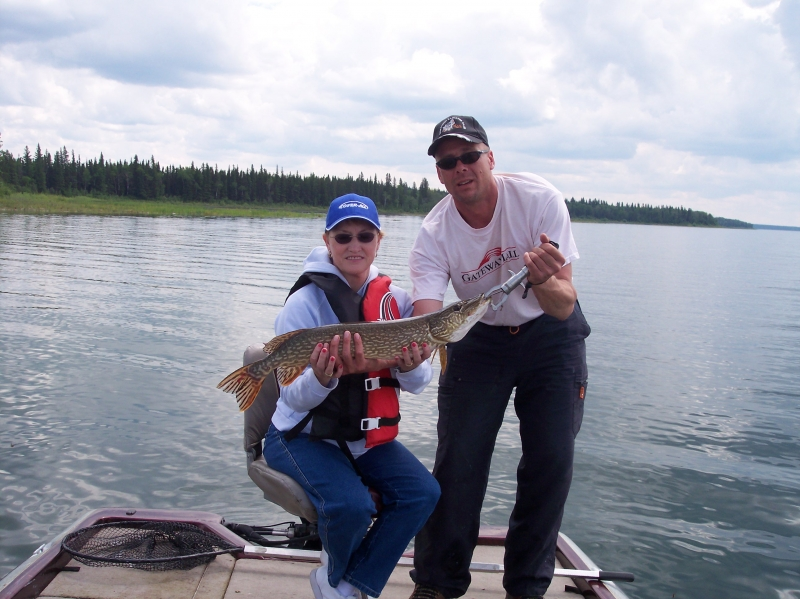 Saskatchewan fishing