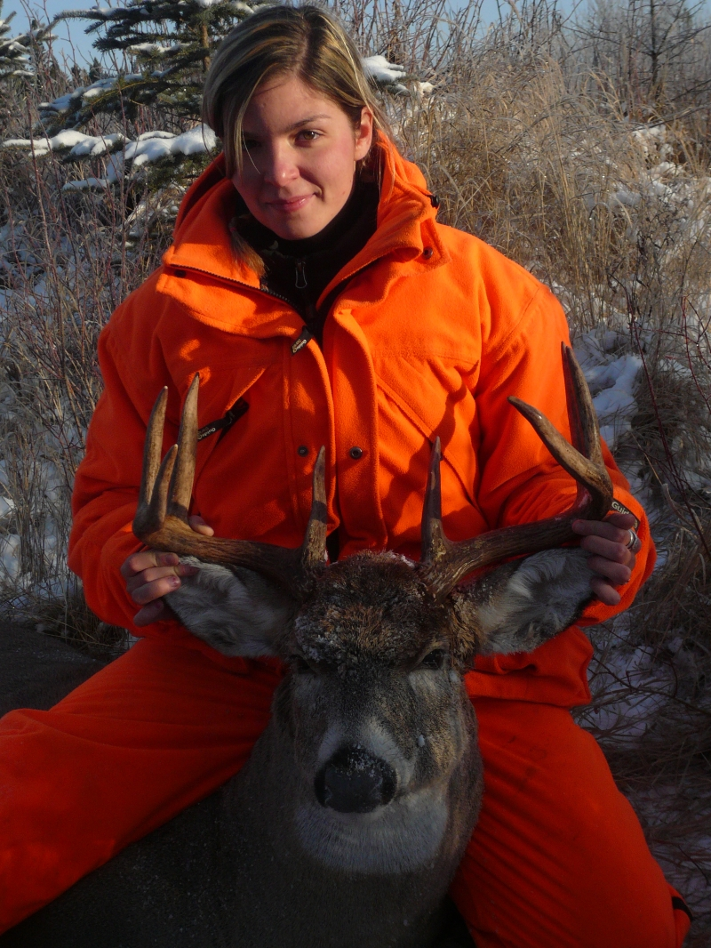 My first year hunting whitetails in saskatchewan!