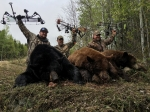 SK black bear bow hunting with Bear Down Outfitters