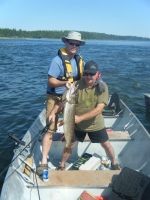 Vern Catches Another Big Pike