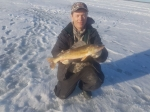 3 lb walleye Bittern Lake.