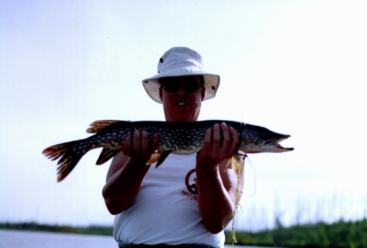 Northern Pike with Twin Lakes Fly-In Fishing